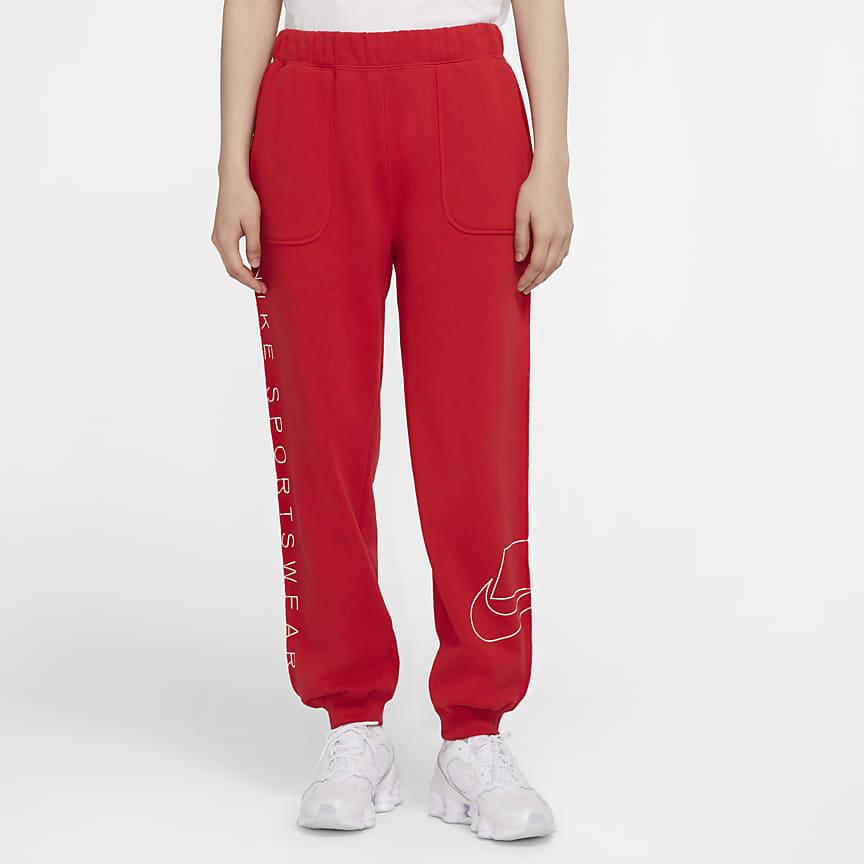 Pantalon en tissu Fleece pour Femme