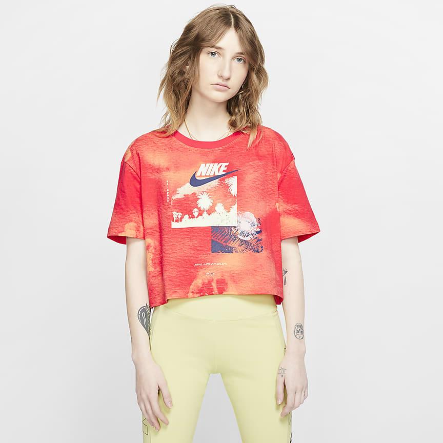 Women's Tie-Dye Crop Top