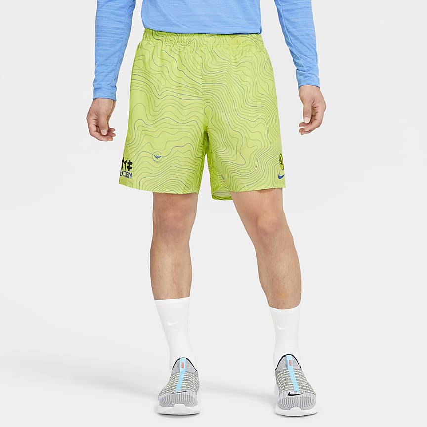 Men's Brief-Lined Running Shorts