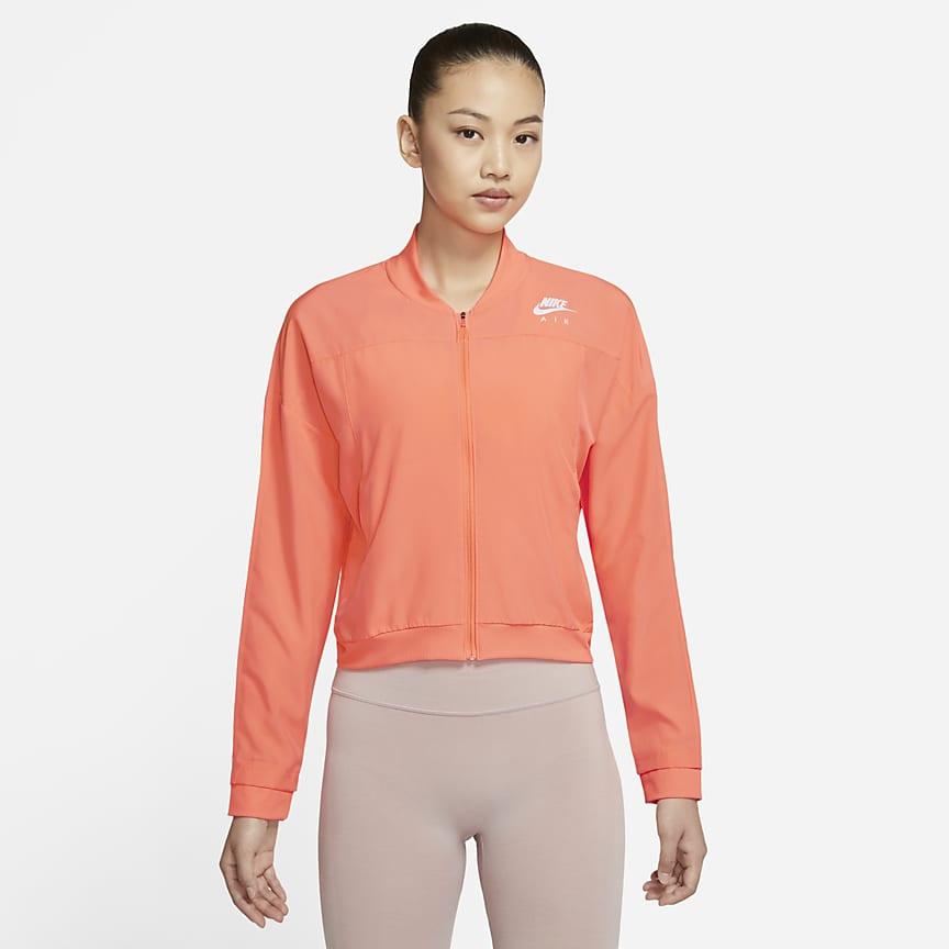 女子跑步夹克