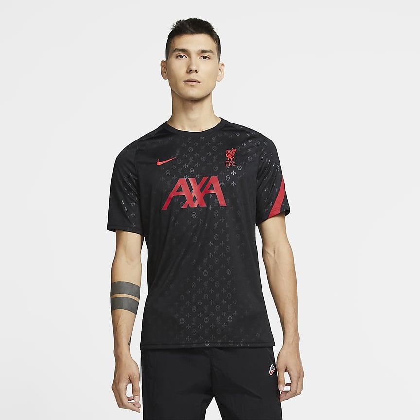 Men's Pre-Match Short-Sleeve Football Top