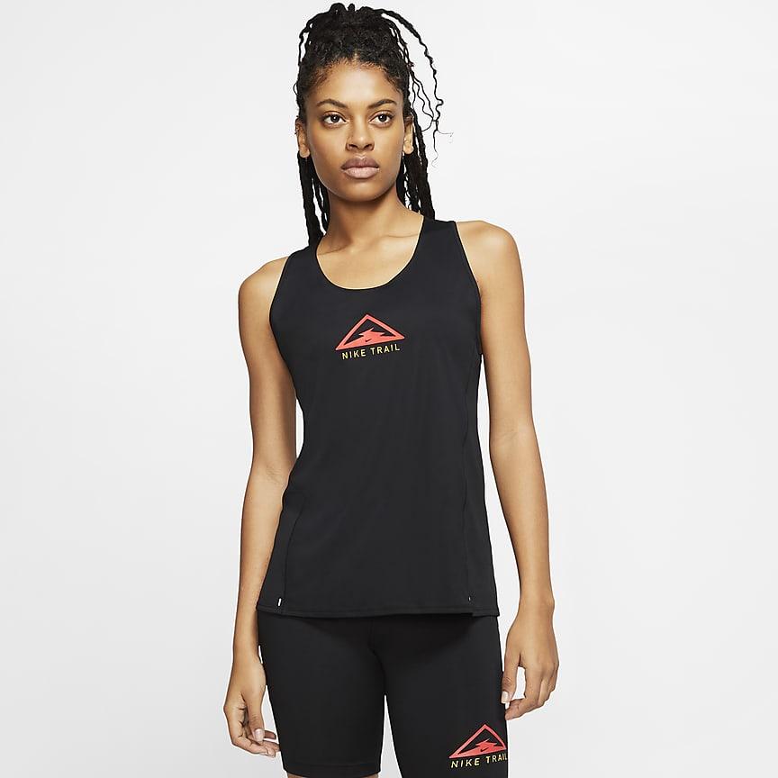 Damska koszulka bez rękawów do biegania w terenie