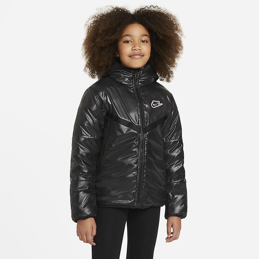 Wasserabweisende Jacke für ältere Kinder (große Größe)