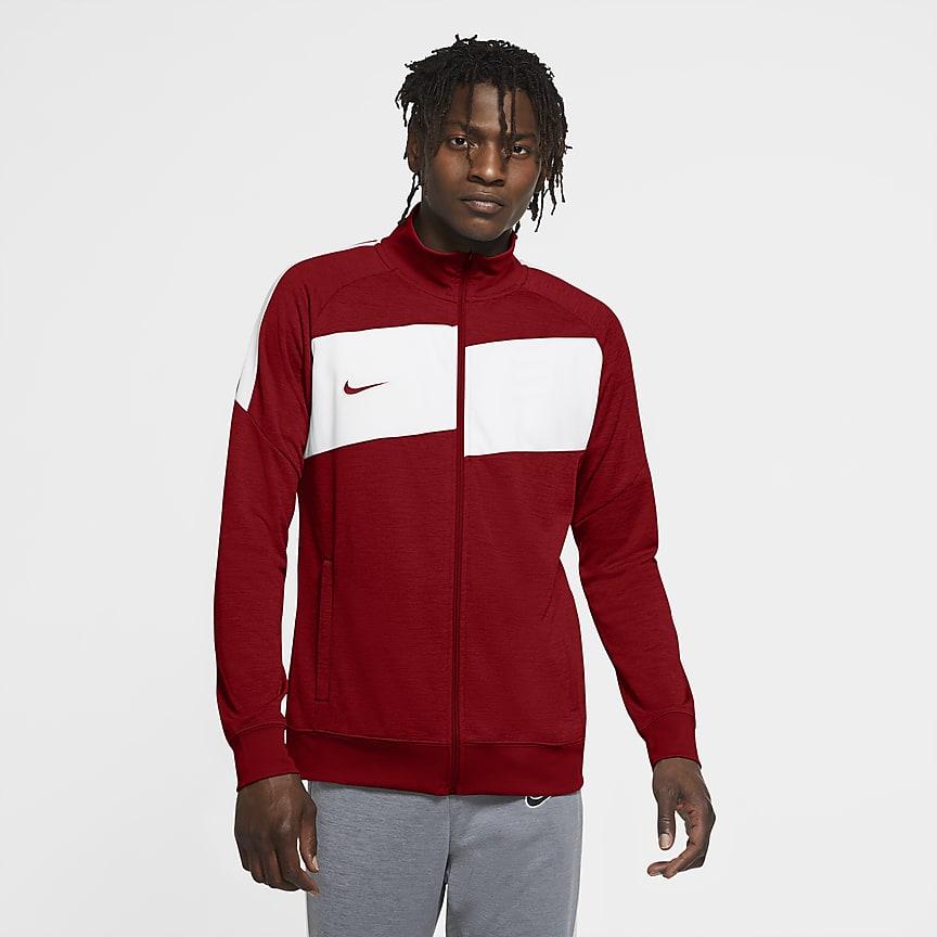 Men's Knit Football Track Jacket