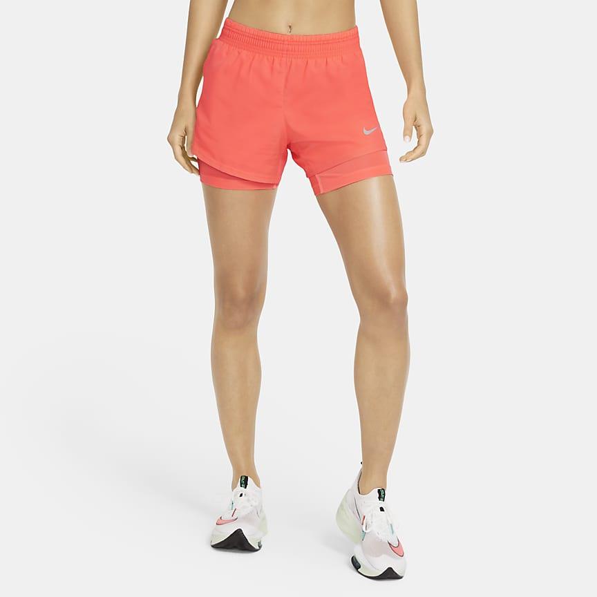 女款二合一跑步短褲
