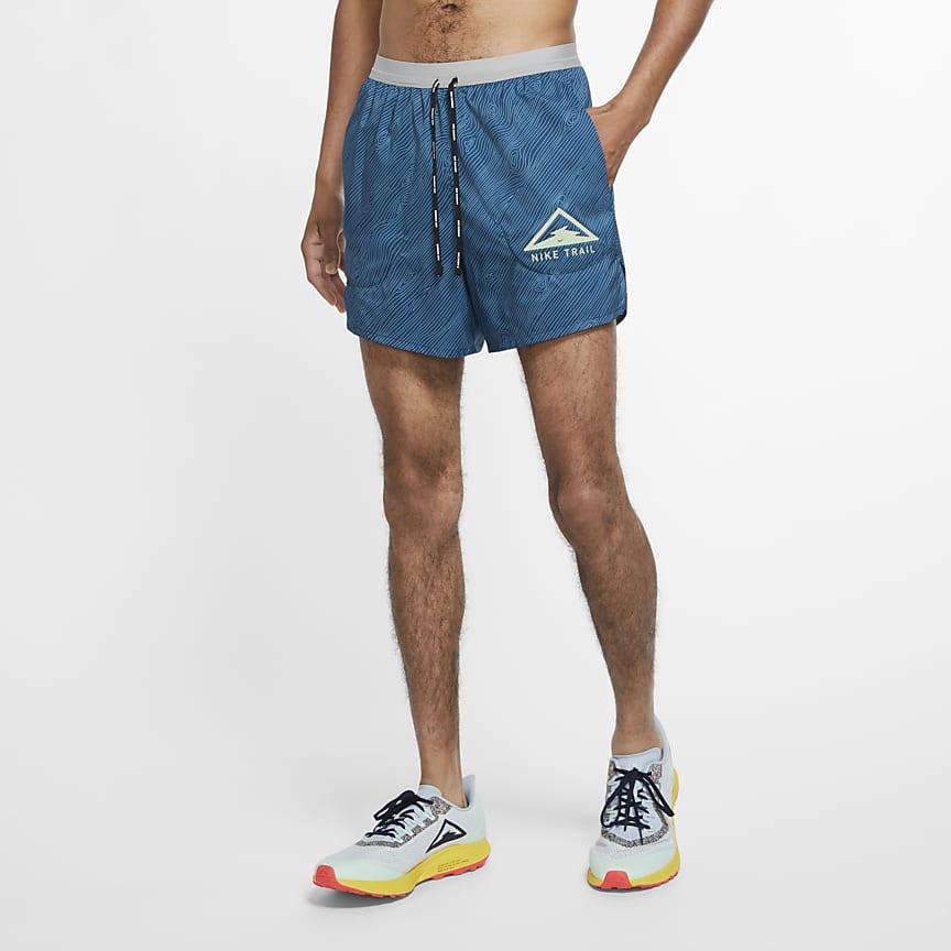 Shorts de trail running de 13 cm para hombre