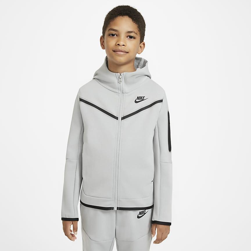 Hoodie mit durchgehendem Reißverschluss für ältere Kinder (Jungen)