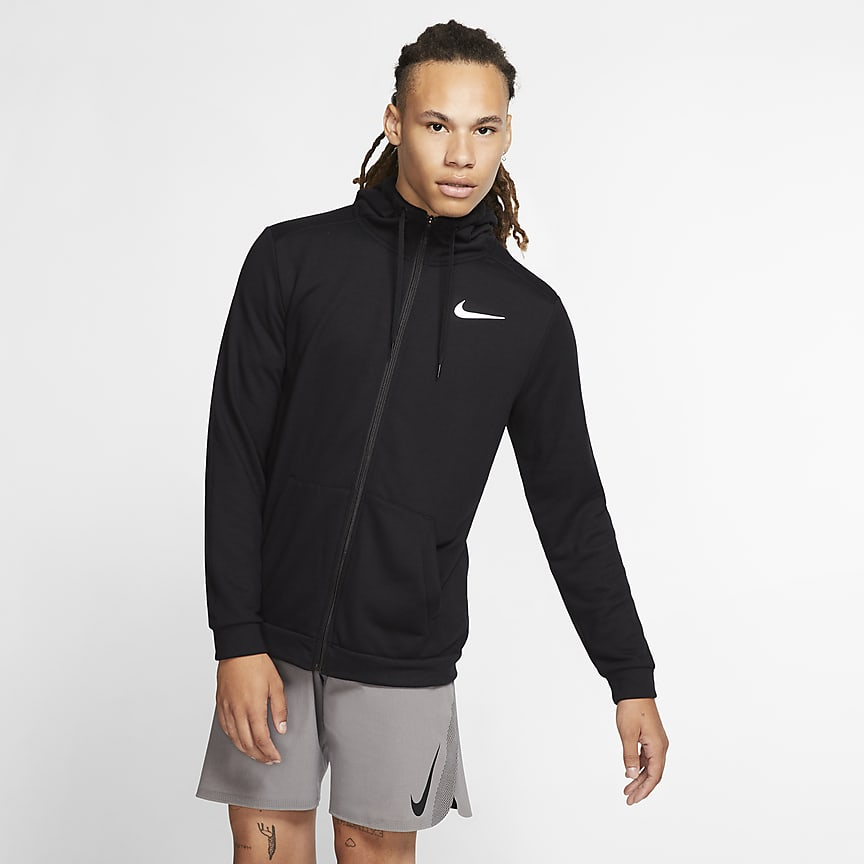 Men's Full-Zip Training Hoodie