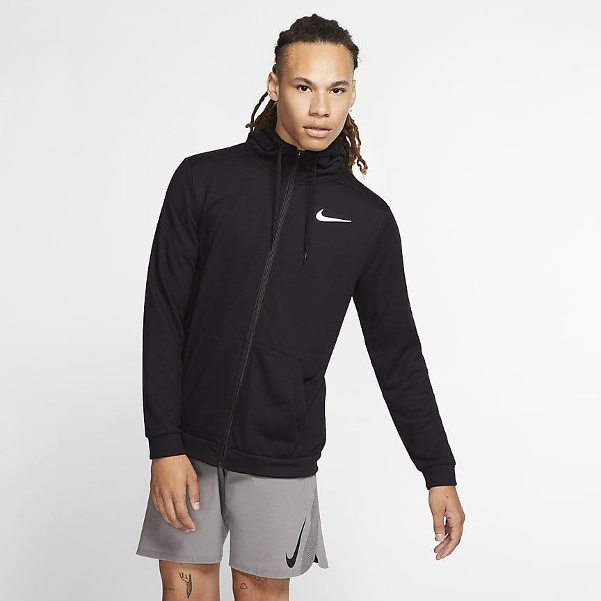 Sweat à capuche de training à zip pour Homme