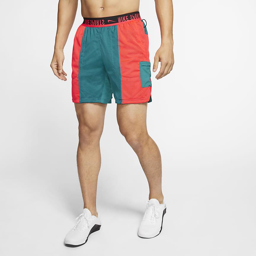 Shorts de entrenamiento reversibles para hombre