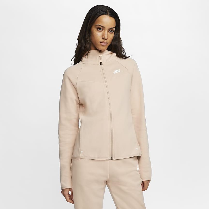 Γυναικεία μπλούζα με κουκούλα και φερμουάρ σε όλο το μήκος