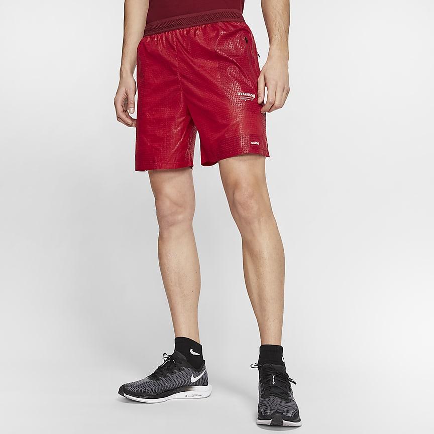 男子跑步短裤