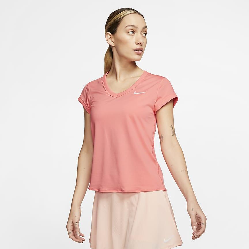 Camiseta de tenis de manga corta - Mujer