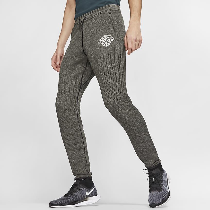 男子针织长裤