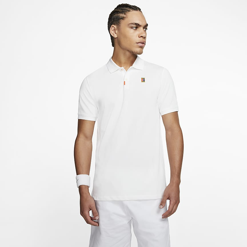 Herren-Poloshirt in schmaler Passform