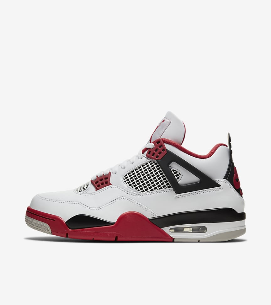 Air Jordan 4  'Fire Red' Release Date
