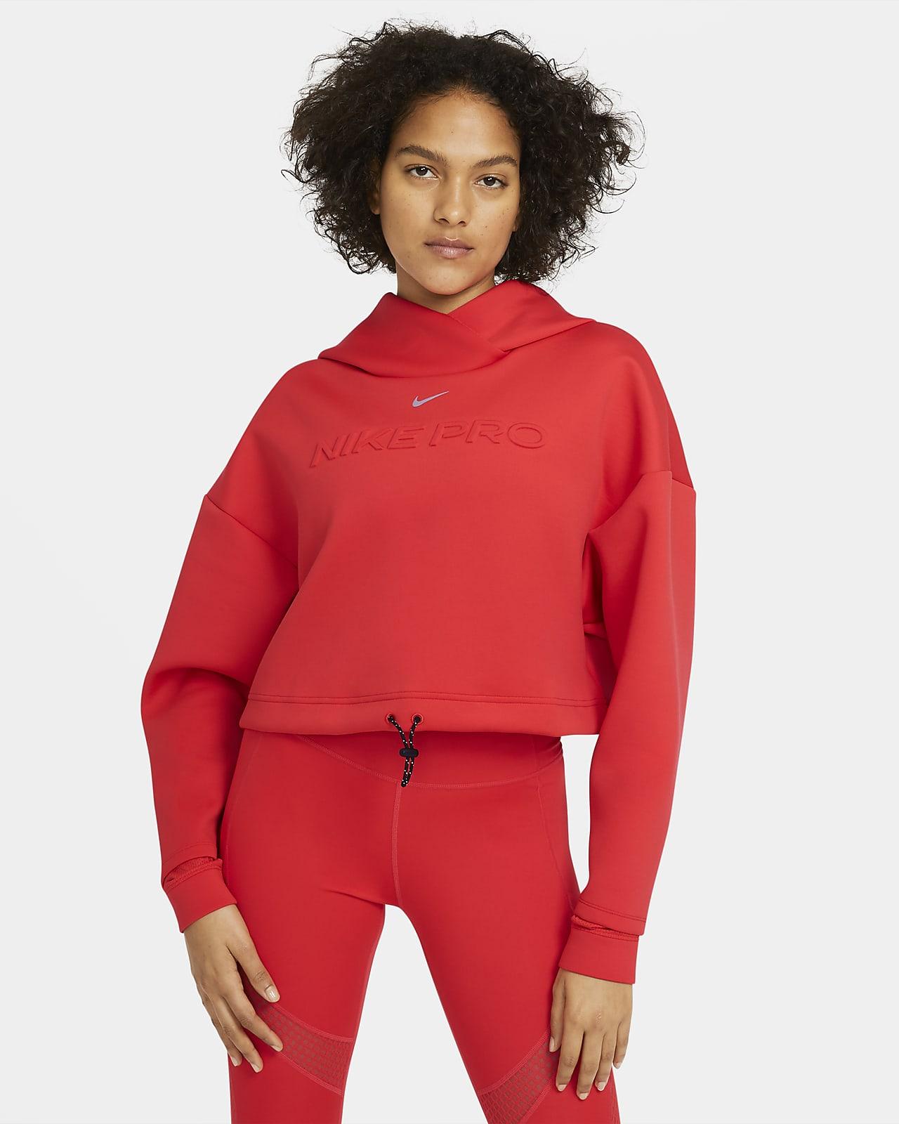 Nike Pro Hoodie voor dames