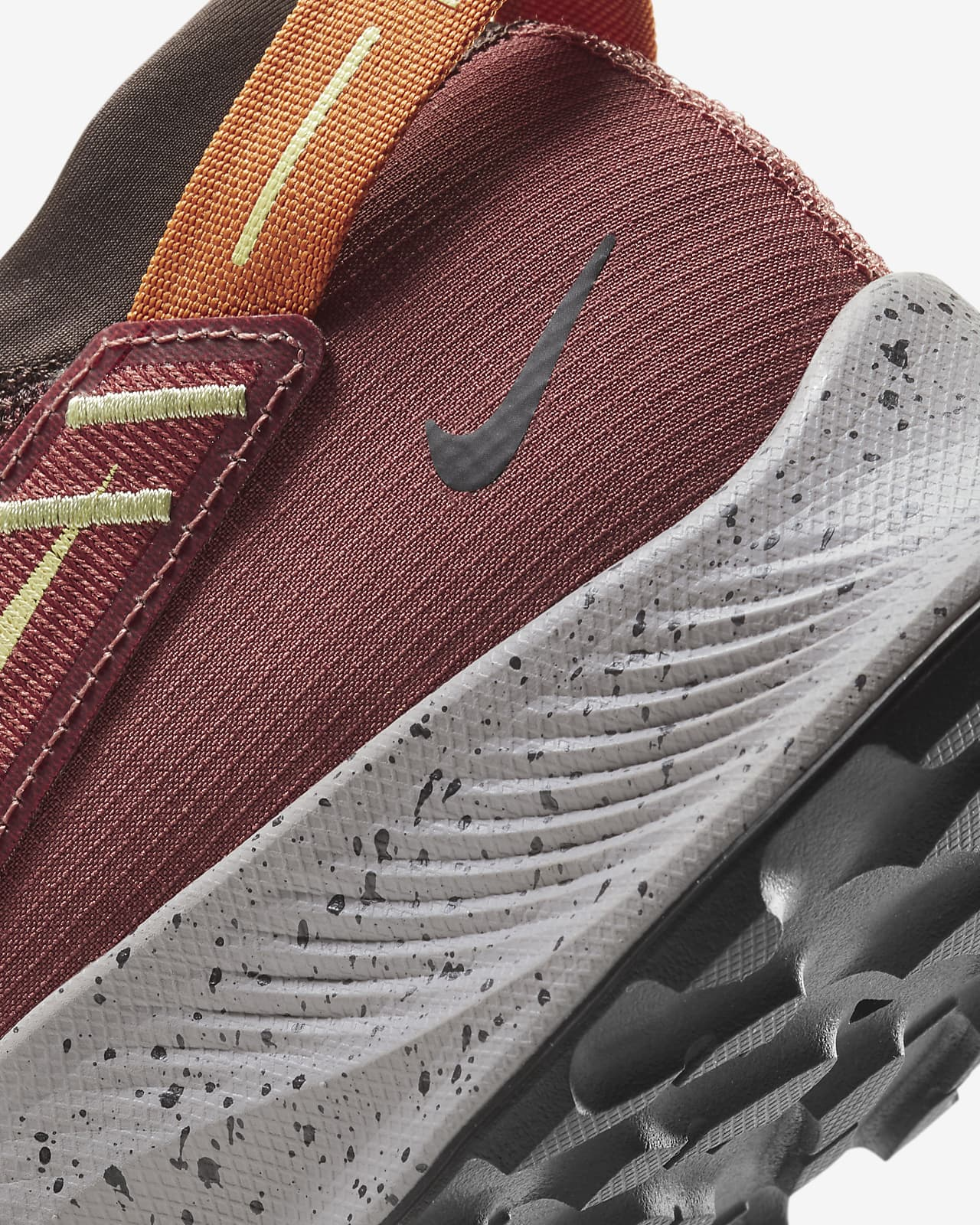 chaussures homme nike marron