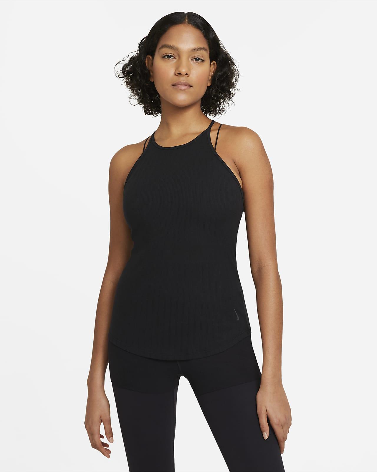 Débardeur Nike Yoga Pointelle pour Femme