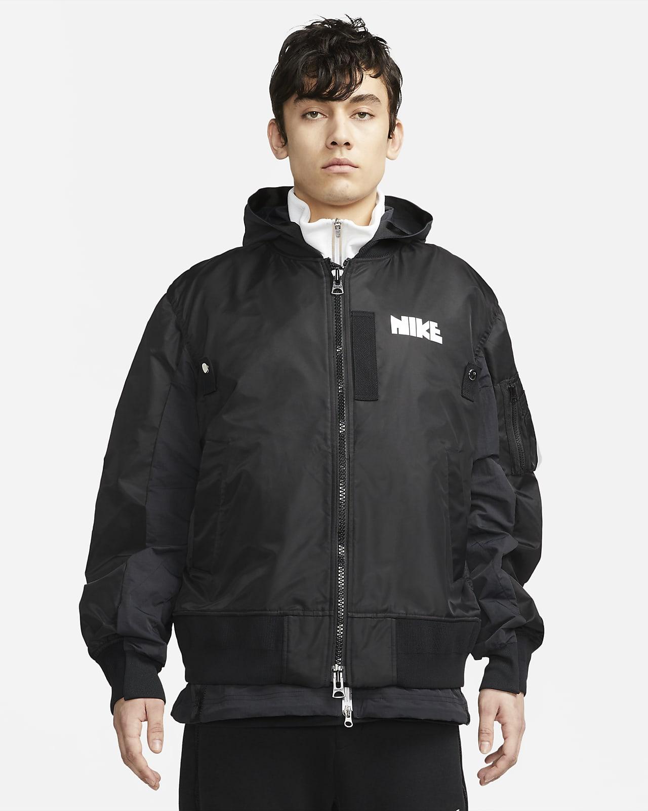 เสื้อแจ็คเก็ตผู้ชาย Nike x sacai
