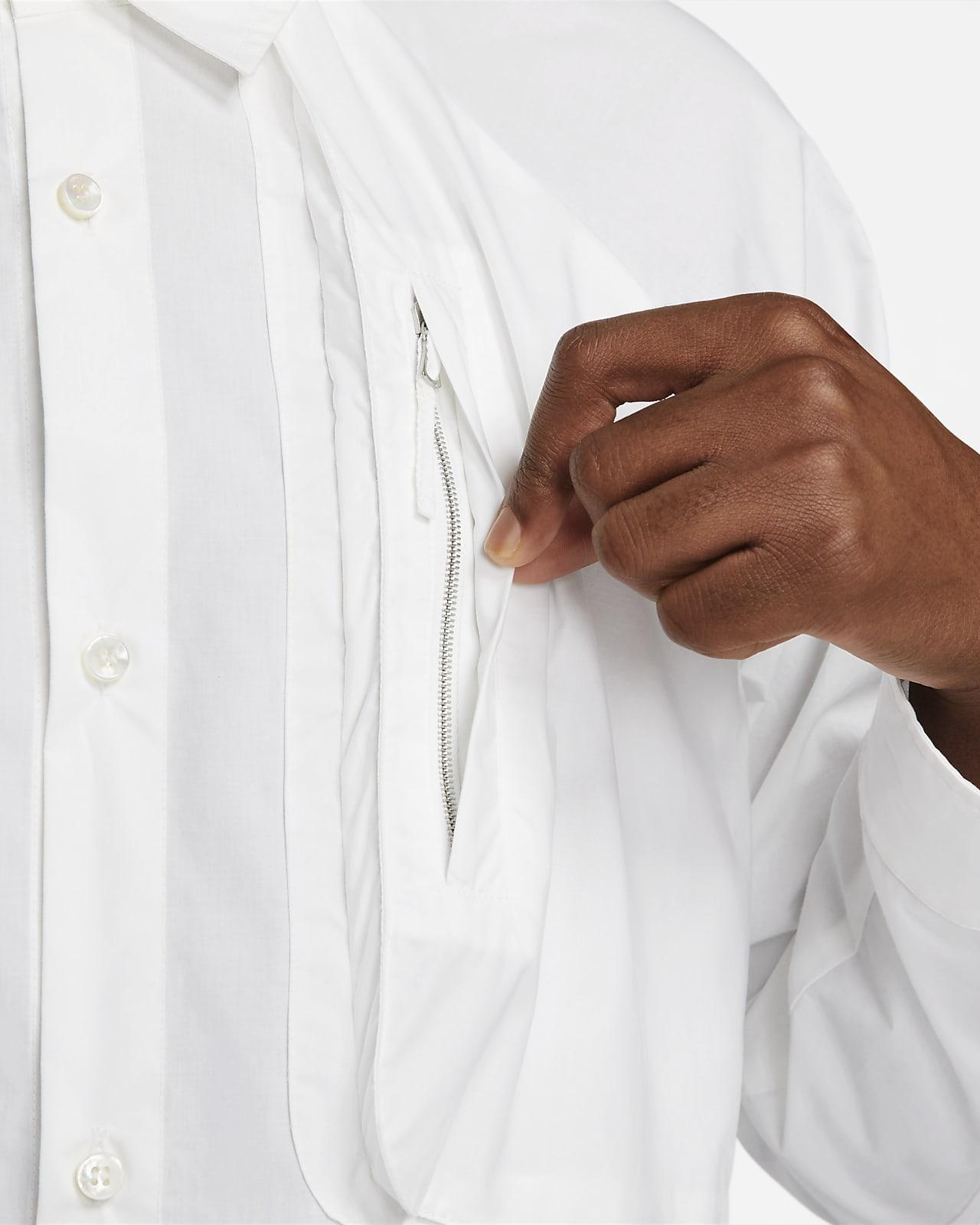 Chemise tissée Nike ESC pour Homme. Nike LU