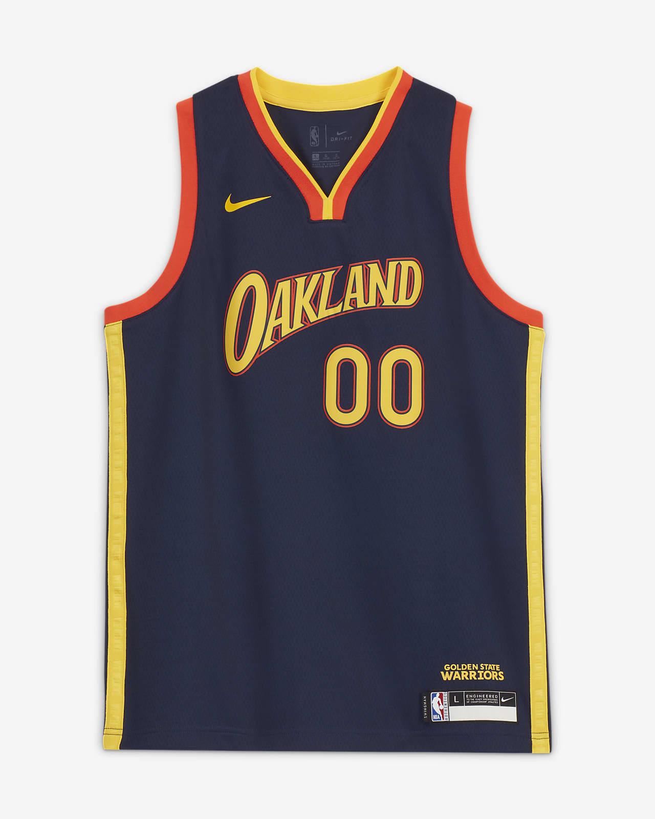Stephen Curry Warriors City Edition Older Kids' Nike NBA Swingman Jersey