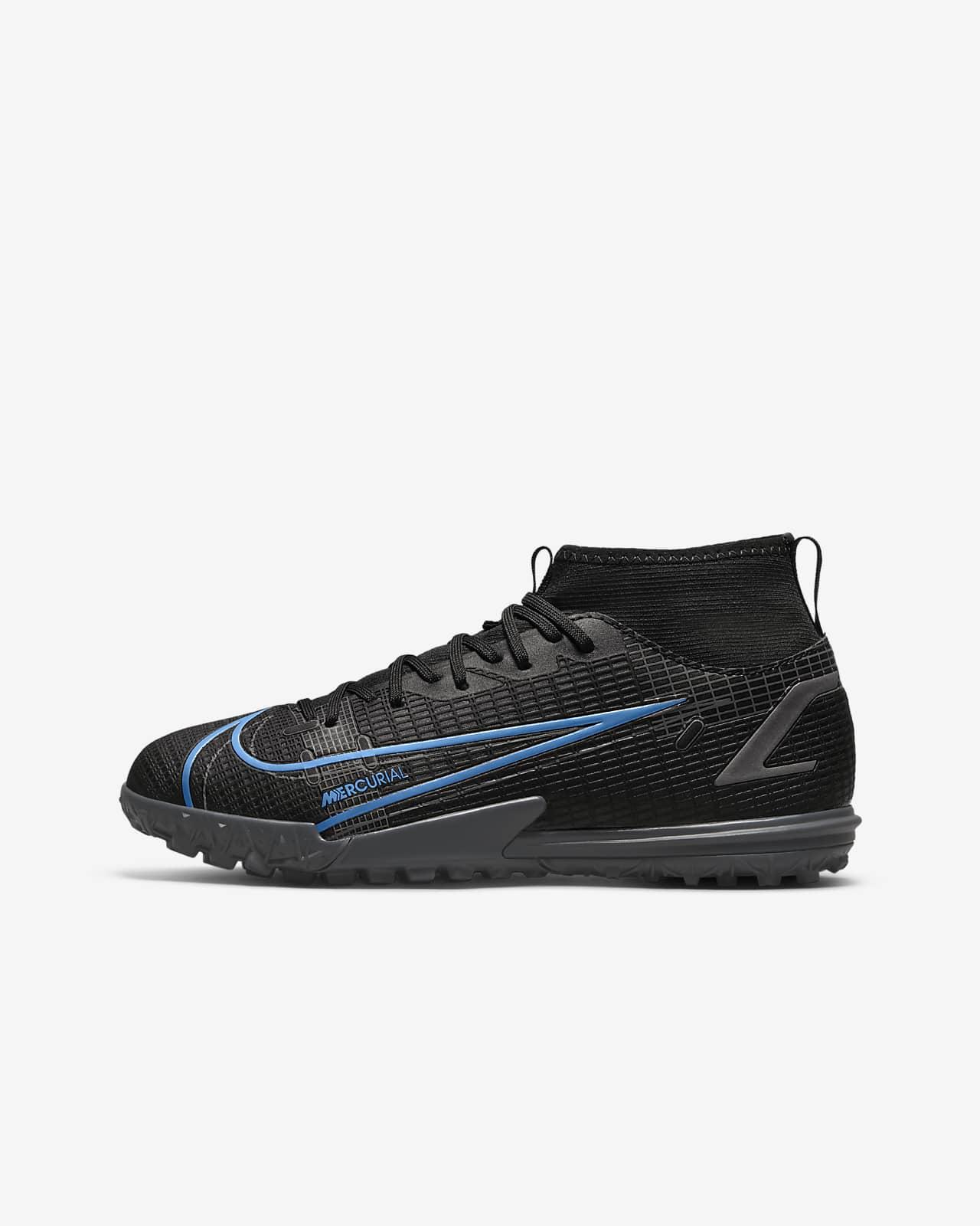 Nike Jr. Mercurial Superfly 8 Academy TF Botes de futbol per a gespa artificial i moqueta-turf - Nen/a i nen/a petit/a