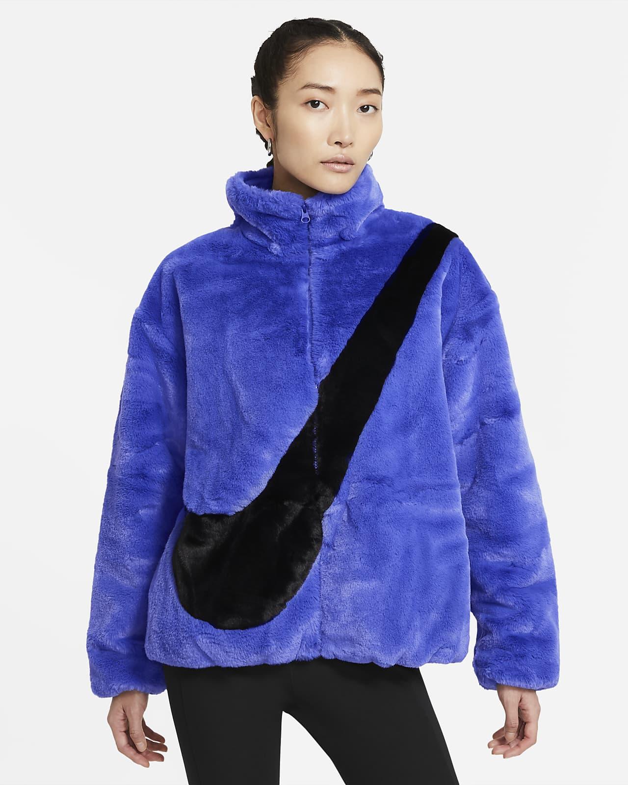 Chamarra de pelo sintético para mujer Nike Sportswear