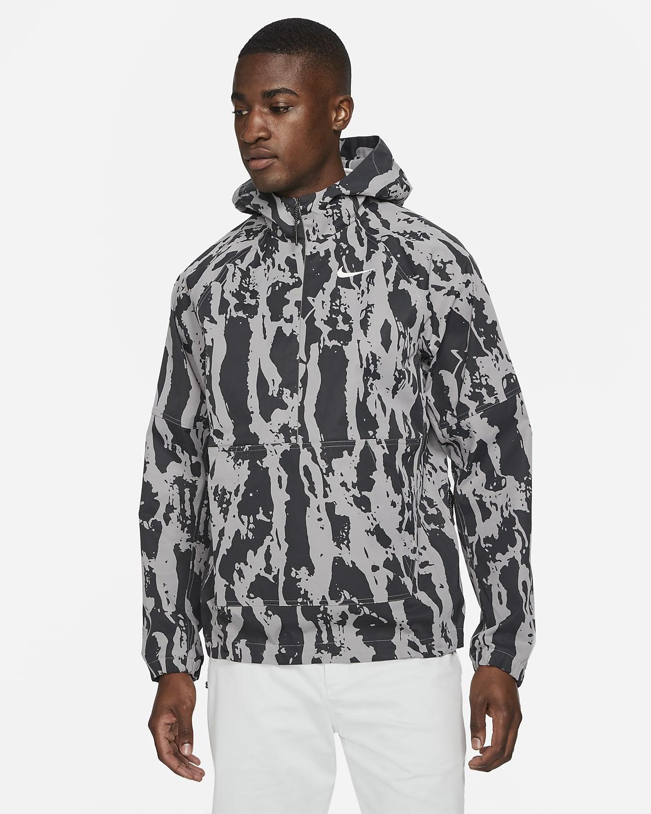 Anorak de golf camuflageado para hombre Nike Repel