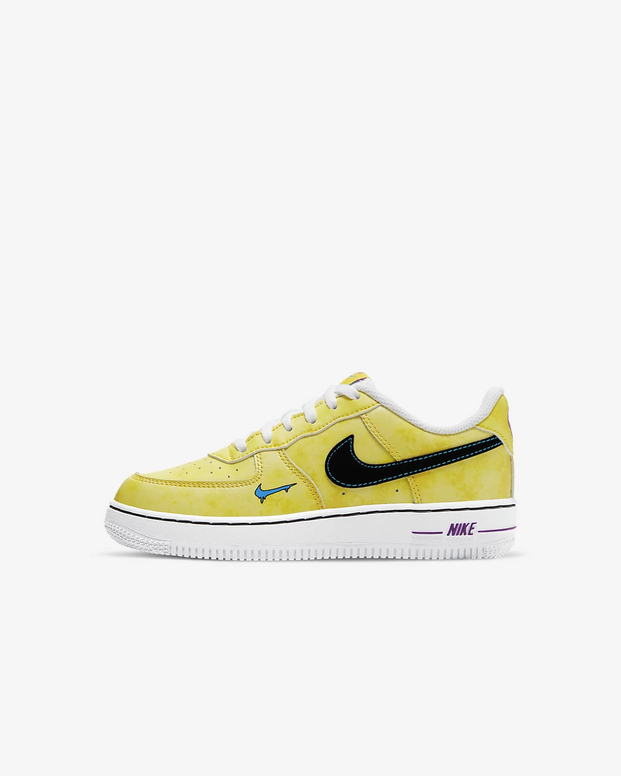 Chicle Mancha Agotar  Nike Force 1 LV8 3 Little Kids' Shoe. Nike.com