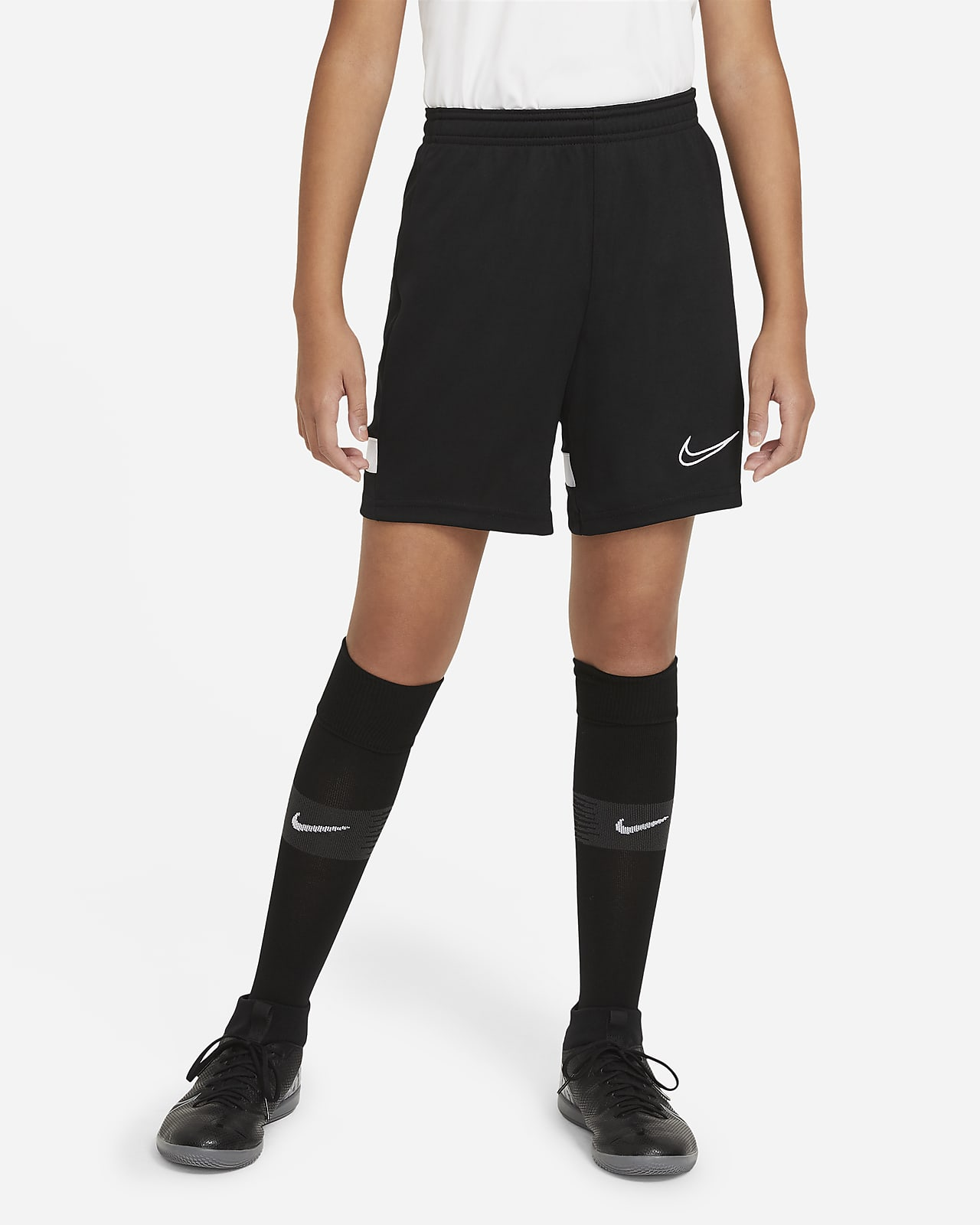 Nike Dri-FIT Academy Older Kids' Knit Football Shorts