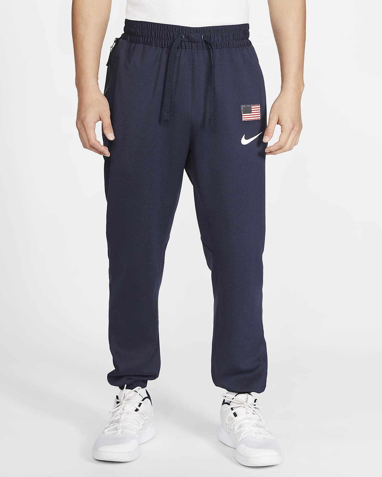 USA Nike Therma Flex Showtime Men's Basketball Pants