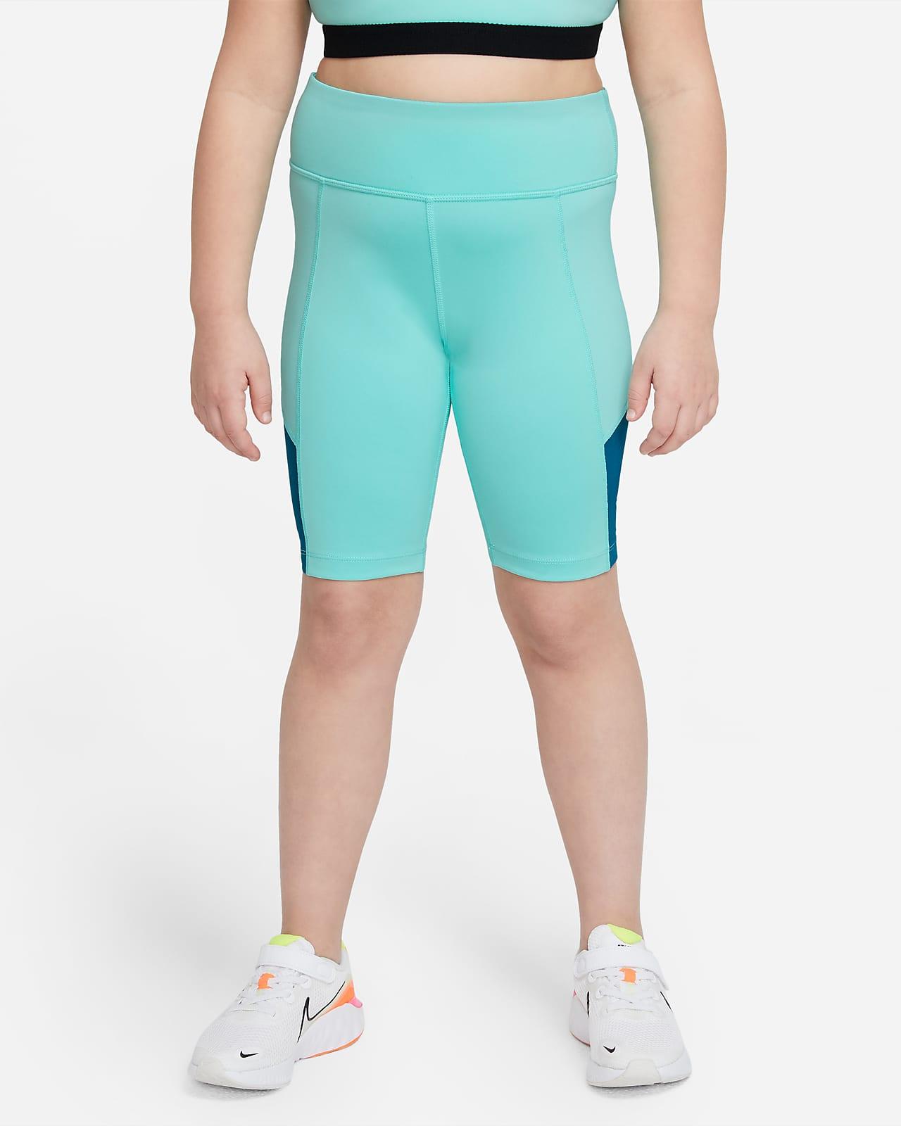 Nike Trophy Big Kids' (Girls') Training Bike Shorts (Extended Size)