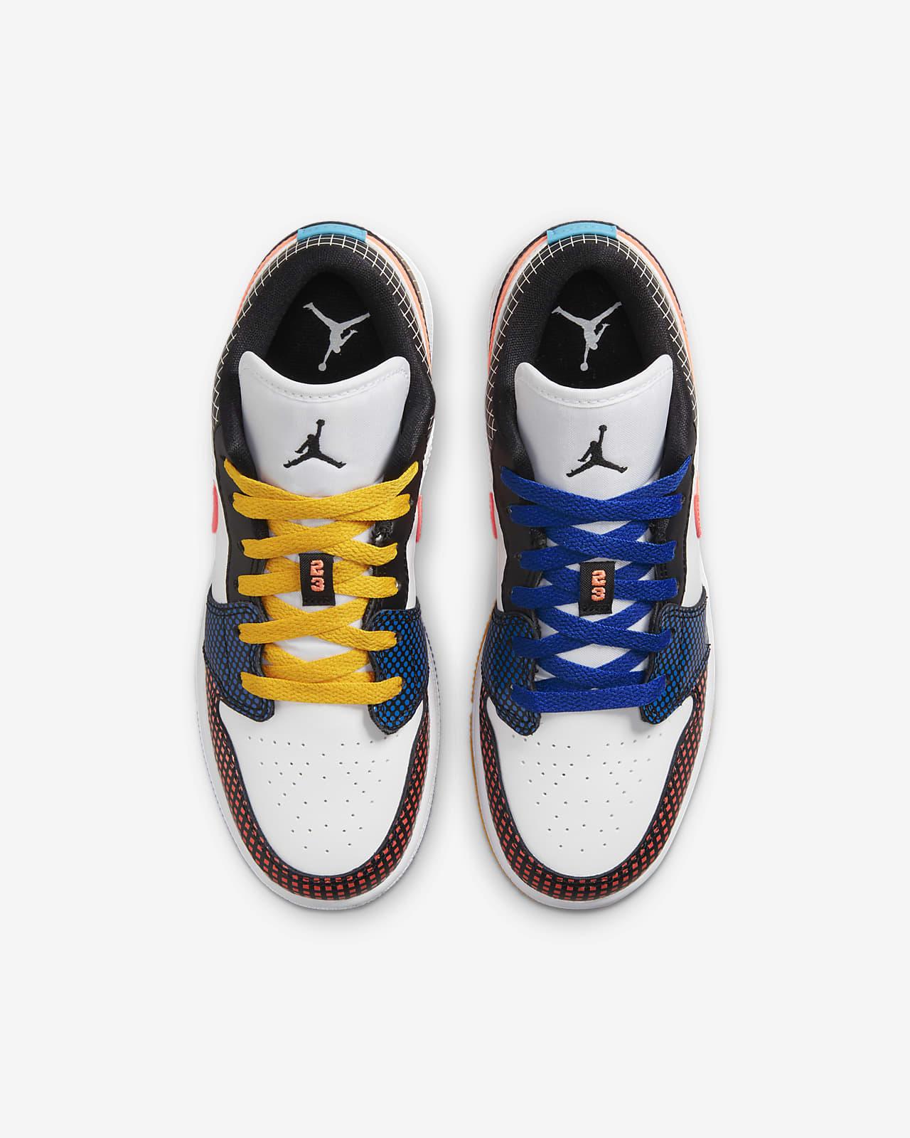 Chaussure Air Jordan 1 Low MMD pour Enfant plus âgé. Nike LU