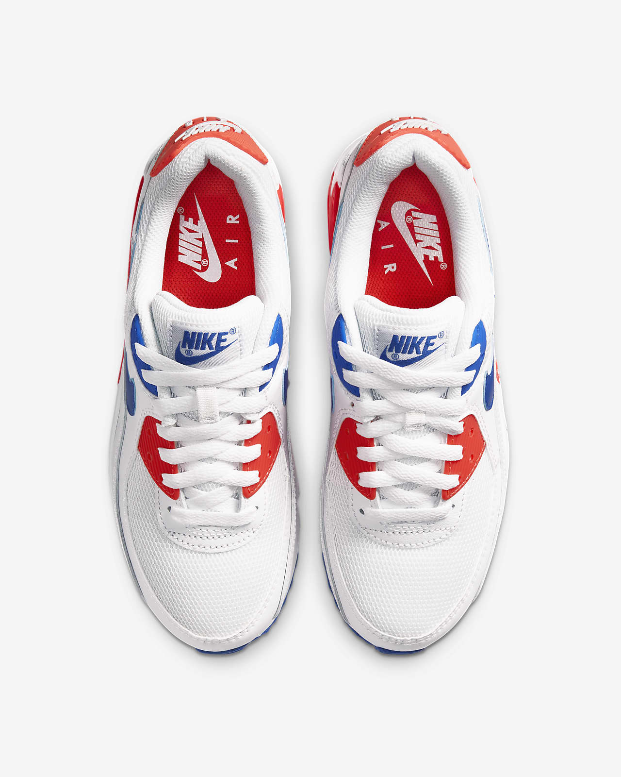 baskets nike air max 90 chaussures de running pour homme bleu