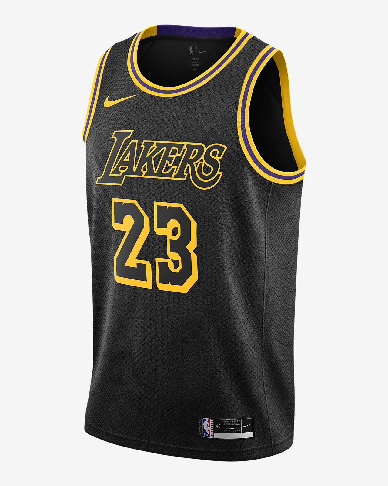LeBron James Lakers Nike NBA Swingman Jersey