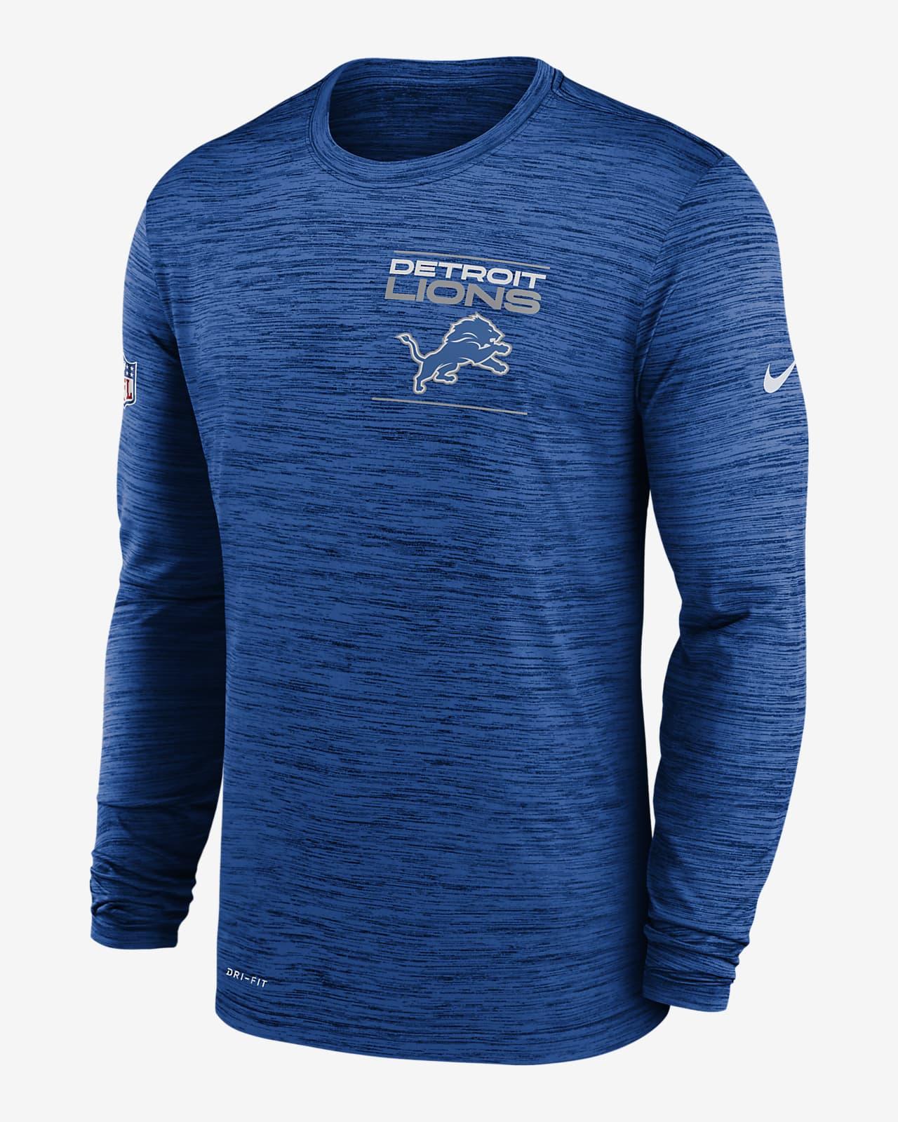 Nike Dri-FIT Sideline Velocity Legend (NFL Detroit Lions) Men's Long-Sleeve T-Shirt