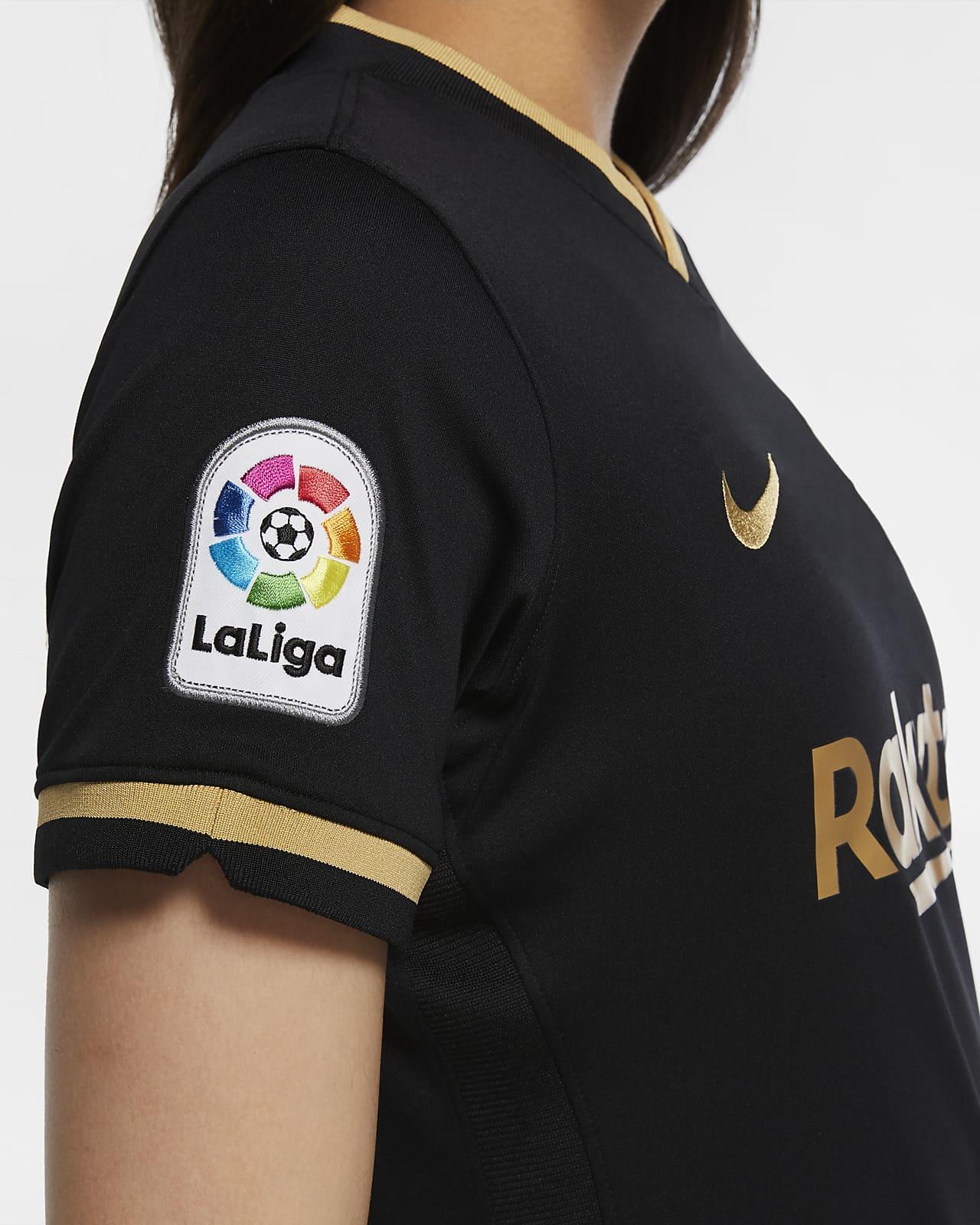 Fc Barcelona 2020 21 Stadium Away Women S Soccer Jersey Nike Com
