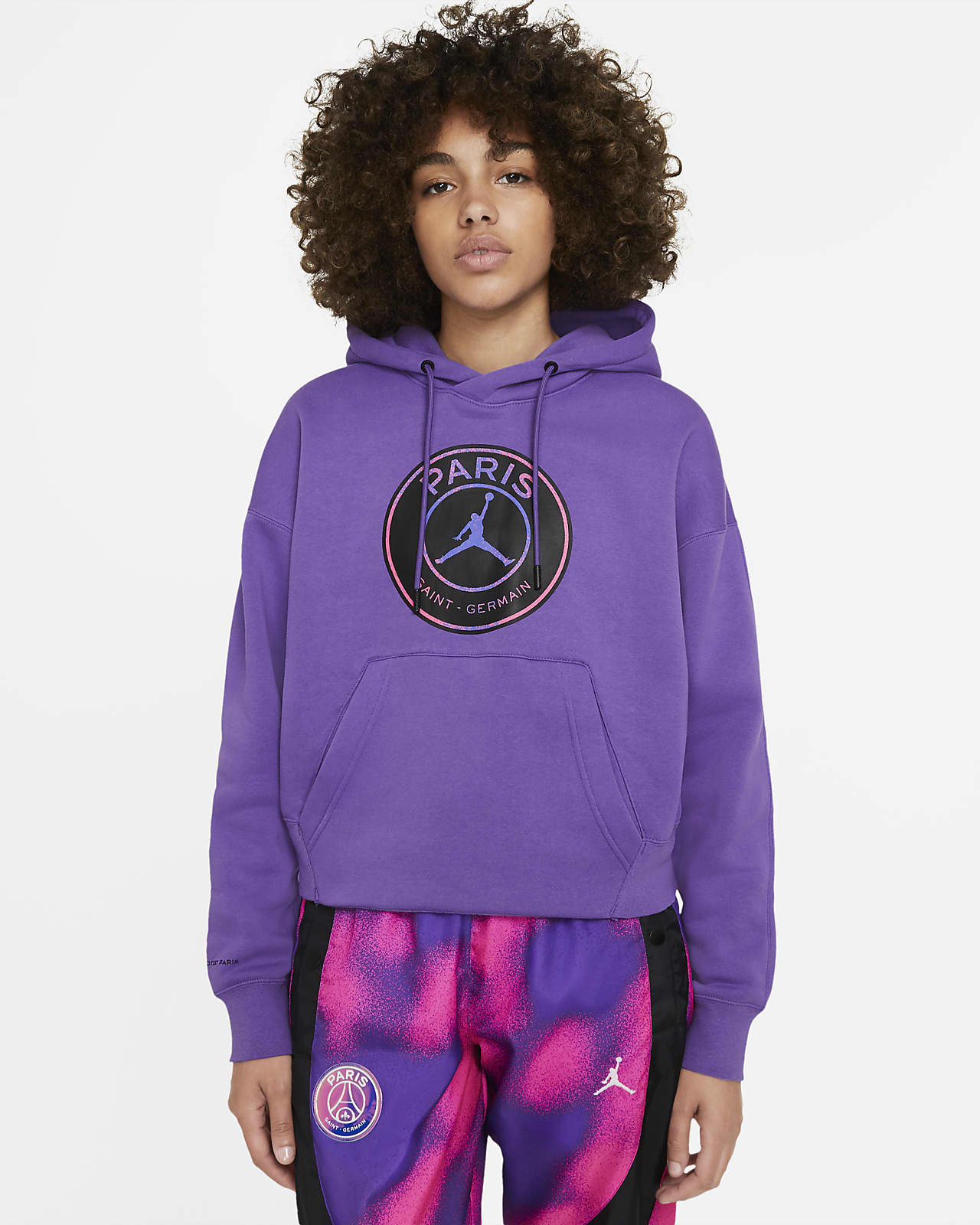 Paris Saint-Germain Women's Fleece Pullover Hoodie