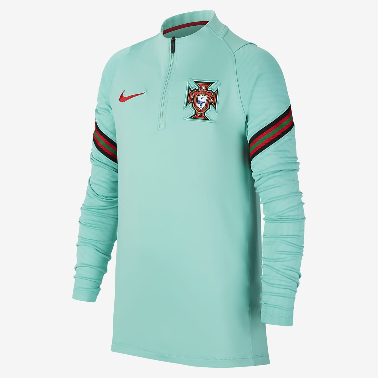 Tréninkové fotbalové tričko Portugalsko Strike pro větší děti