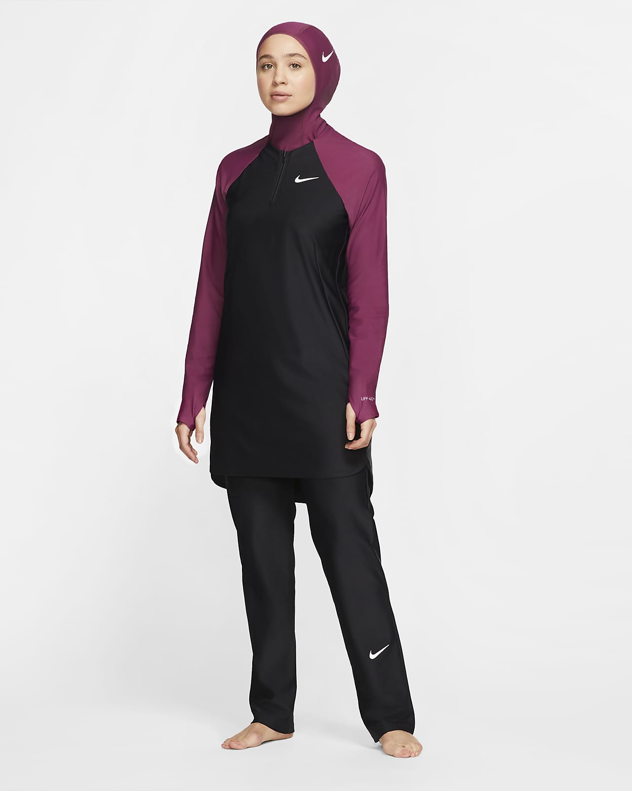 Nike Victory Women's Full-Coverage Straight-Leg Swim Pants