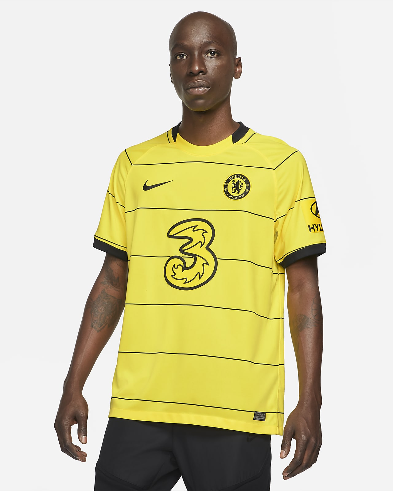 Jersey de fútbol del Chelsea FC visitante 2021/22 Stadium para hombre