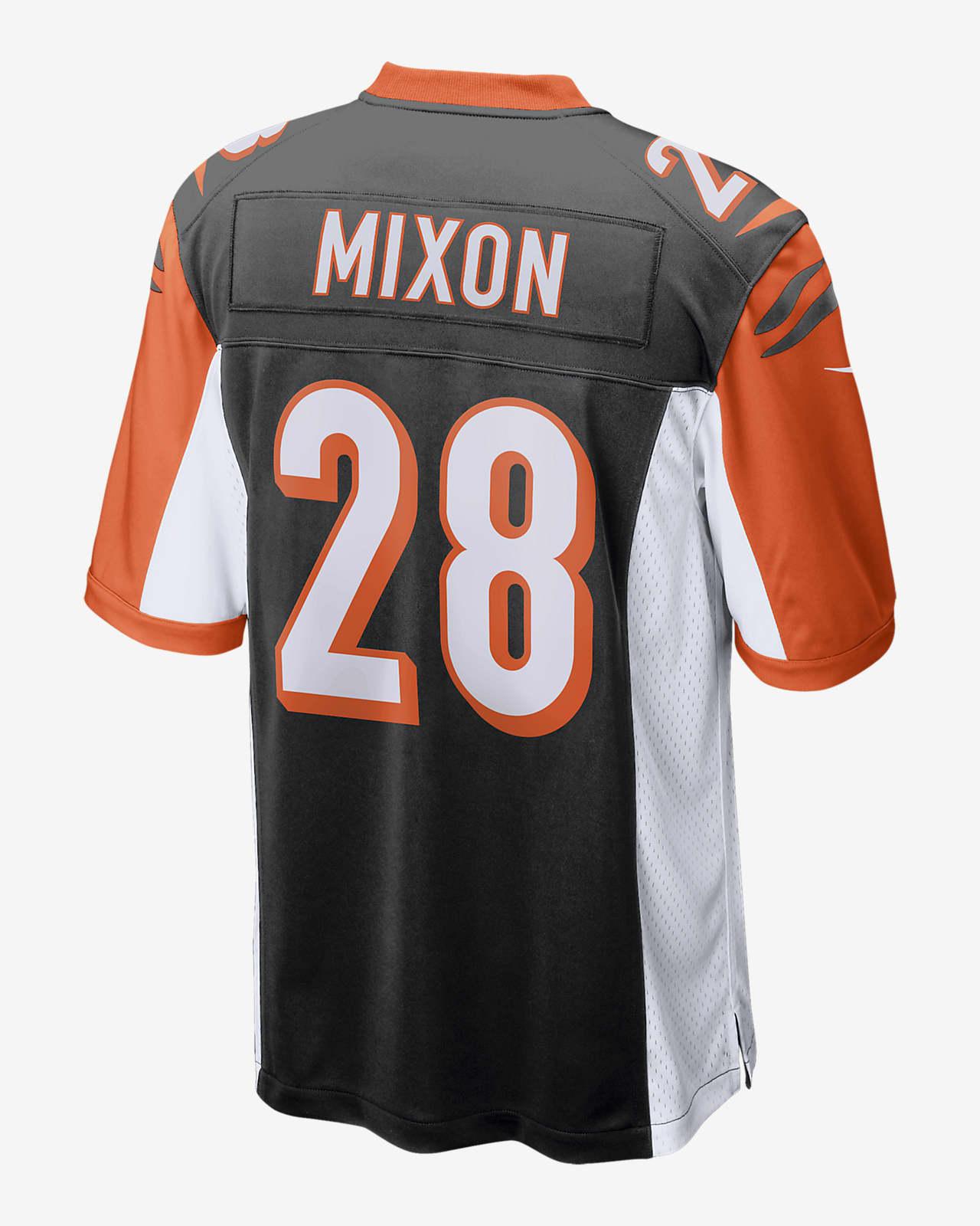 NFL Cincinnati Bengals (Joe Mixon) Men's Game American Football Jersey