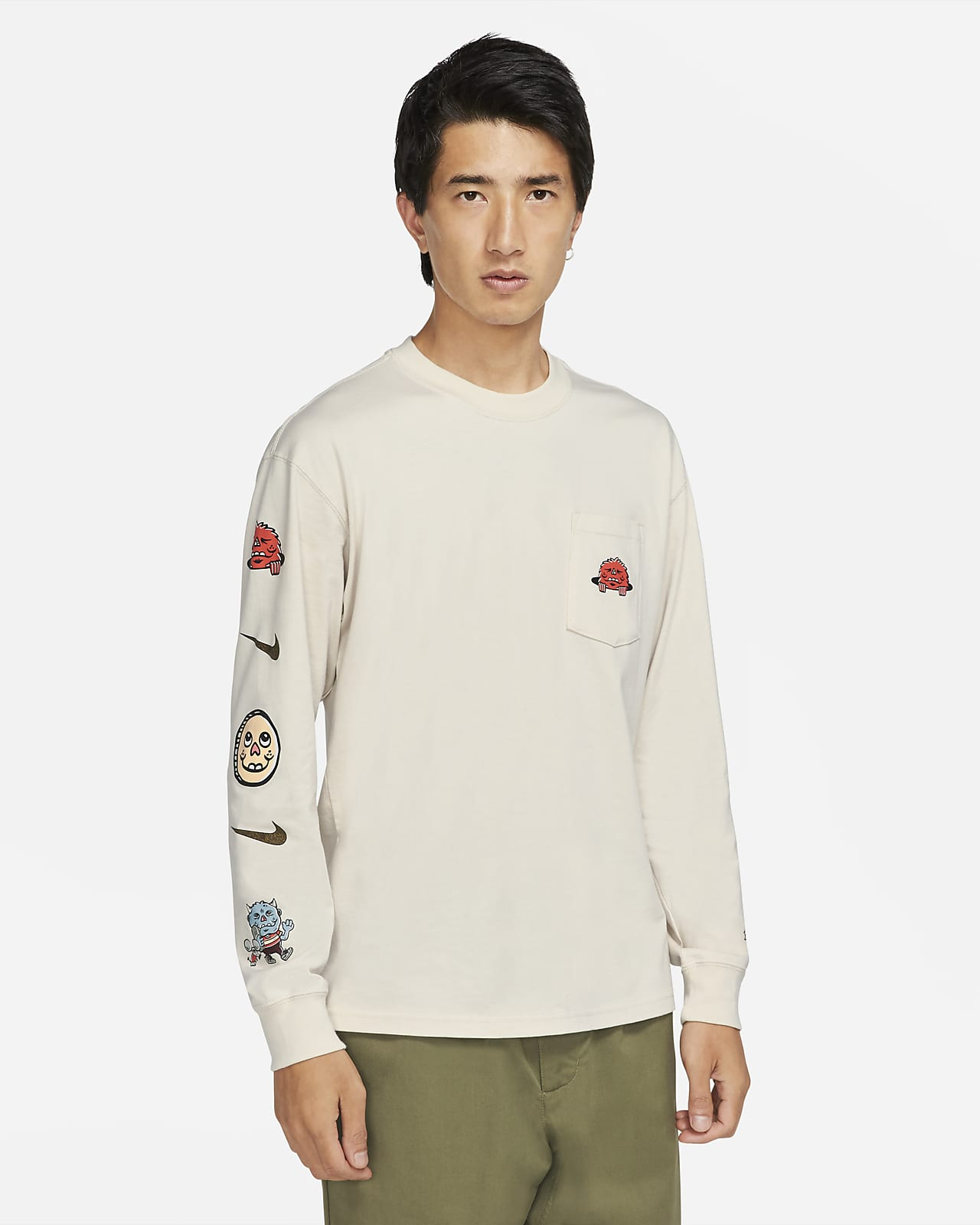 Nike SB Men's Long-Sleeve Pocket Skate T-Shirt