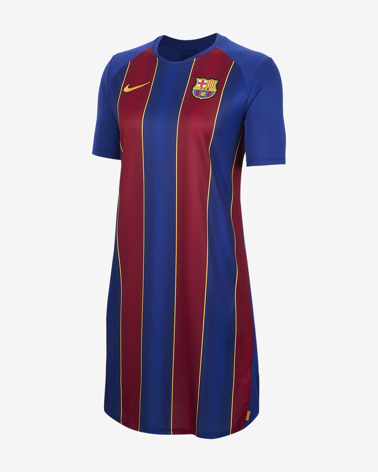 Robe en jersey de football FC Barcelona pour Femme