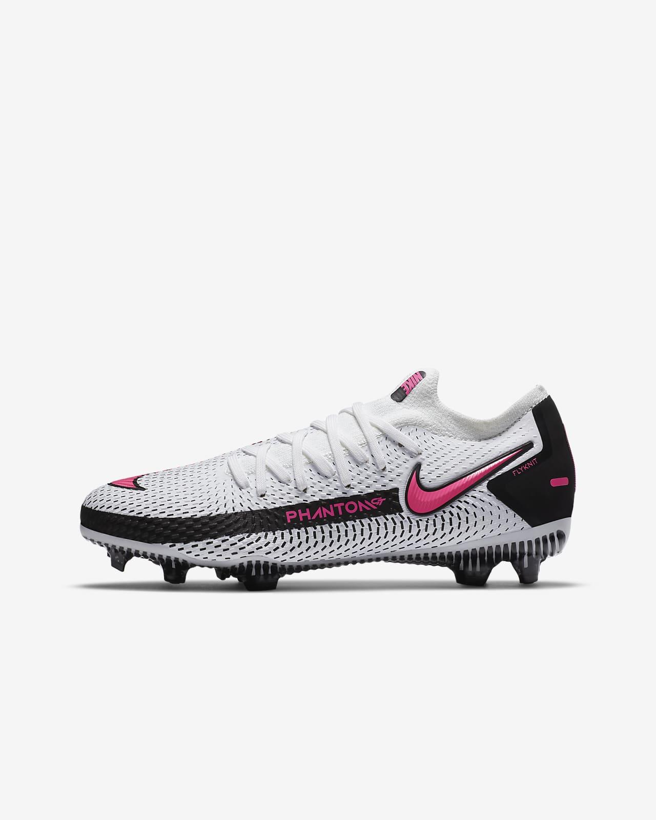 Chaussure de football à crampons pour terrain sec Nike Jr. Phantom GT Pro FG pour Enfant plus âgé
