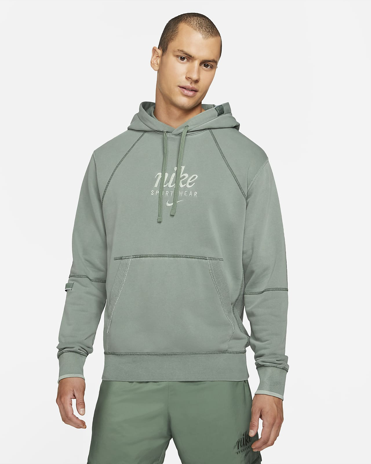 Nike Sportswear Club Men's French Terry Pullover Hoodie