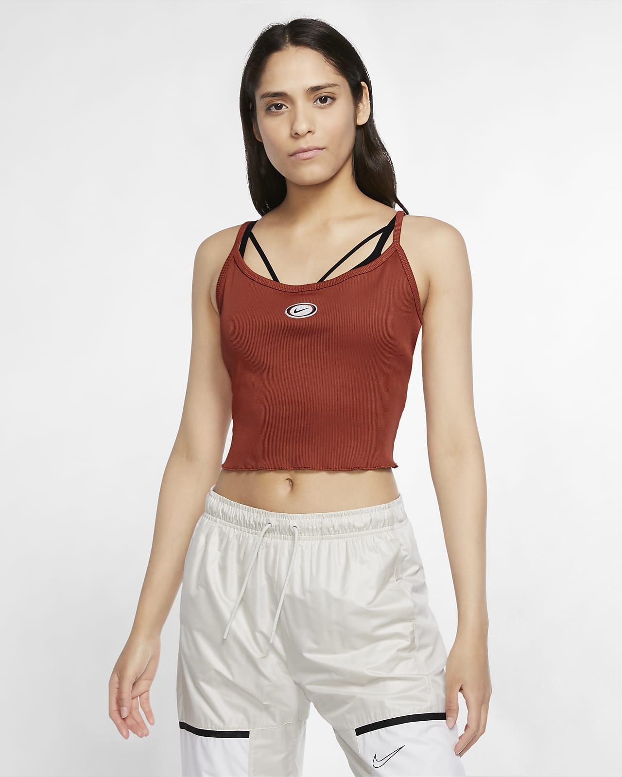 Nike Sportswear avkortet singlet til dame