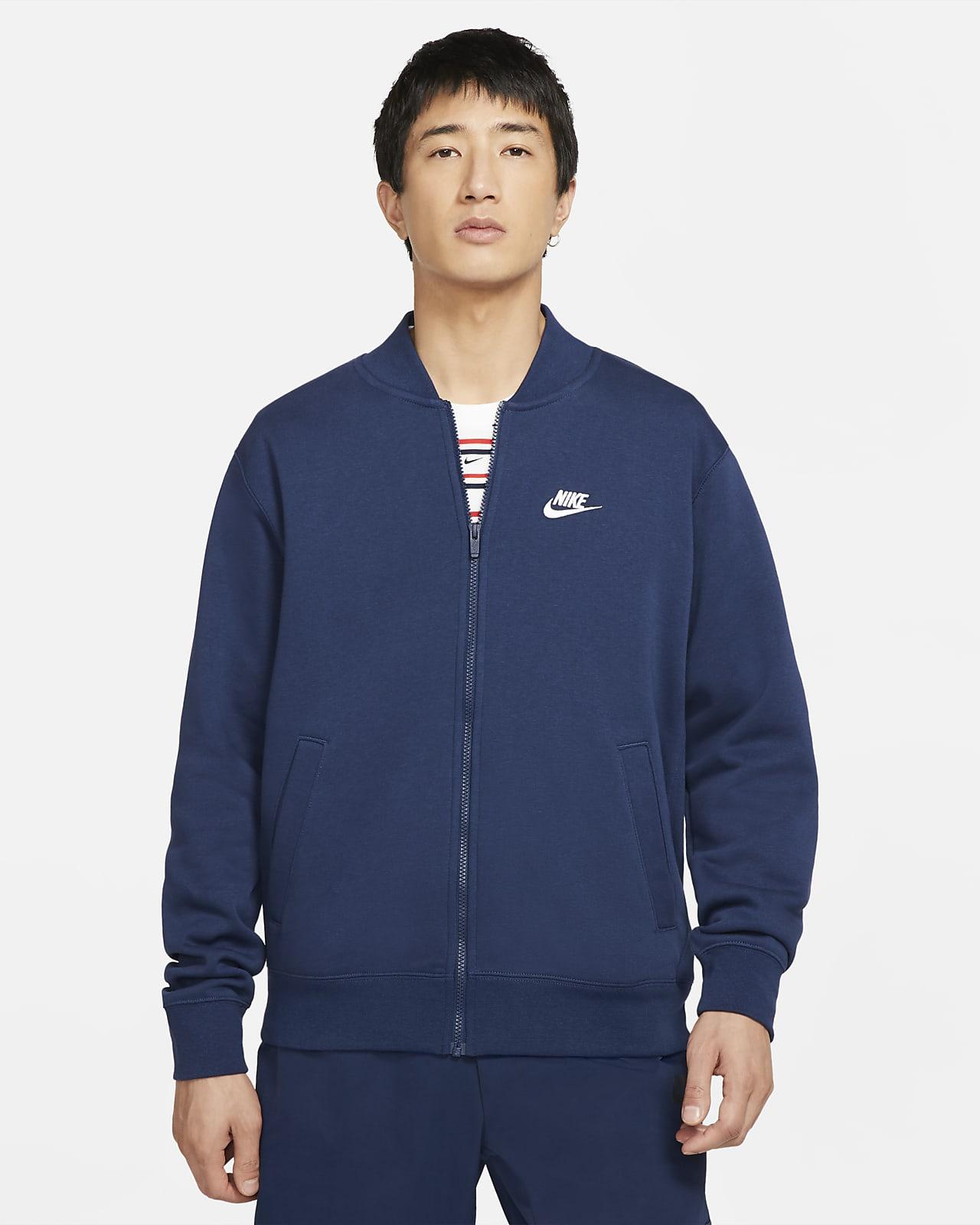 Męska kurtka typu bomberka Nike Sportswear Club Fleece