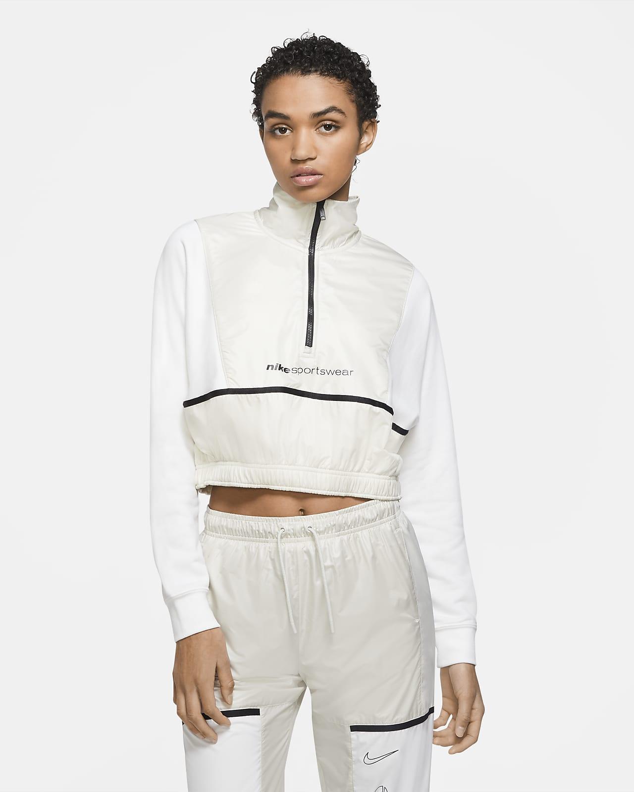 Sudadera con cierre de 1/4 para mujer Nike Sportswear